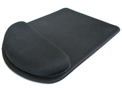 Mouse Pad Ergonômico Tecido Sem Impressão Retangular