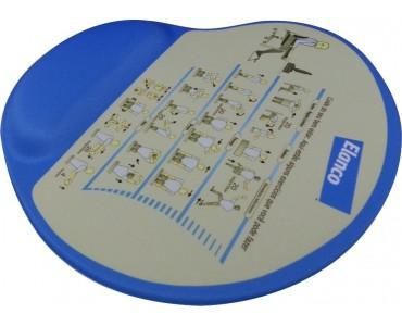 Mouse Pad Ergonomico Personalizado Sublimação - MP-800 -...