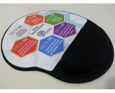 Mouse Pad Ergonômico Personalizado - MP-02 - Meta