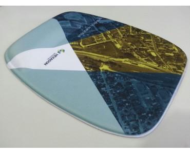 Mousepad Ergonomico Personalizado Sublimação - MP-600 - Hexagon