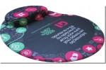 Mousepad Mouse Pad com Apoio Ergonômico Silicone Gel Personalizado Tecido Sublimação