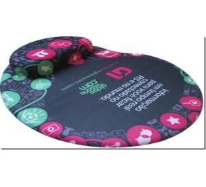 Mouse Pad Ergonômico com Apoio em Gel Personalizado