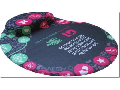 Mouse Pad Ergonômico com Apoio em Silicone Gel Personalizado