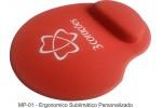Mousepad Mouse Pad com Apoio Ergonômico Personalizado Tecido Sublimação