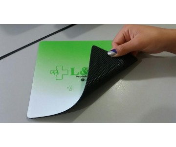 MousePad Mouse Pad Personalizado e Laminado com PVC - Base de Borracha Frisada  - 3