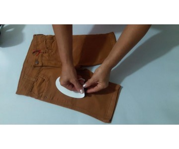 Tecido Termocolante - Adesivo Termocolante - Joelheira  - 2
