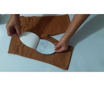 Tecido Termocolante - Adesivo Termocolante - Joelheira  - 3