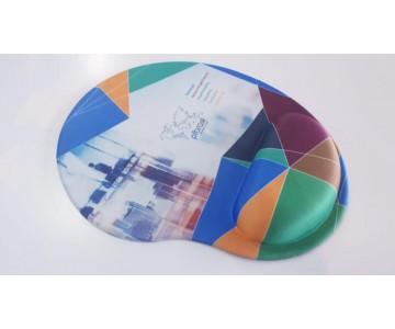 Mousepad Mouse Pad com Apoio Ergonômico Silicone Gel Personalizado Tecido Sublimação  - 2