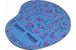 Mousepad Mouse Pad Personalizado Sublimação com Tecido Formato Gota