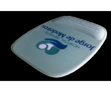 Mousepad Mouse Pad com Apoio Ergonômico Personalizado Tecido Sublimação  - 4