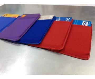 Porta Cartão Para Celular Em Lycra Estilo Nubank  - 3