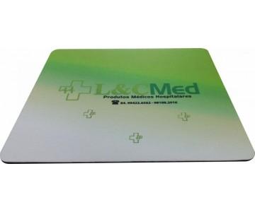 Mousepad Mouse Pad Personalizado Sublimação com Tecido e com Base de Borracha Frisada  - 2