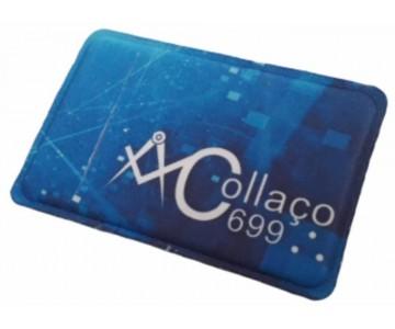 R$4,00 - Porta Cartão Para Celular Em Lycra Estilo Nubank Personalizado com Adesivo  - 3