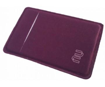 Porta Cartão Para Celular Em Lycra Estilo Nubank Personalizado com Adesivo  - 5
