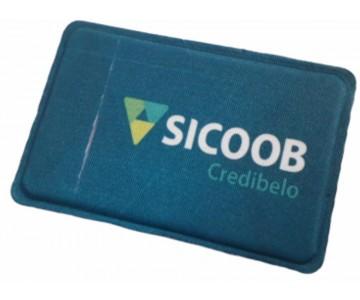 Porta Cartão Para Celular Em Lycra Estilo Nubank Personalizado com Adesivo  - 7