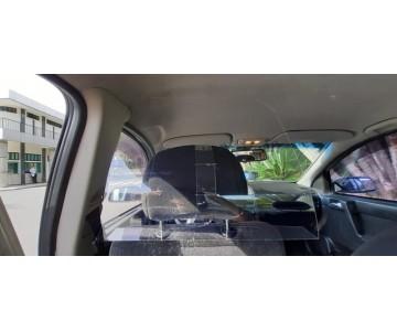 Placa Proteção Motorista Vírus Saliva Uber 99 Táxi Cabify  - 2