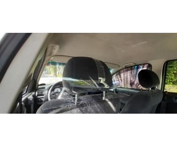 Placa Proteção Motorista Vírus Saliva Uber 99 Táxi Cabify  - 5