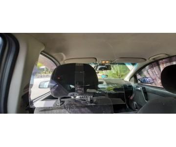 Placa Proteção Motorista Vírus Saliva Uber 99 Táxi Cabify  - 6