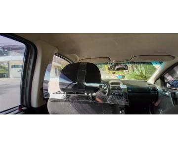 Placa Proteção Motorista Vírus Saliva Uber 99 Táxi Cabify  - 7