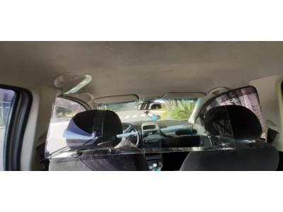 Placa Proteção Motorista Vírus Saliva Uber 99 Táxi Cabify