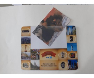 Mousepad Mouse Pad Personalizado e Laminado com PVC Porta Foto  - 11