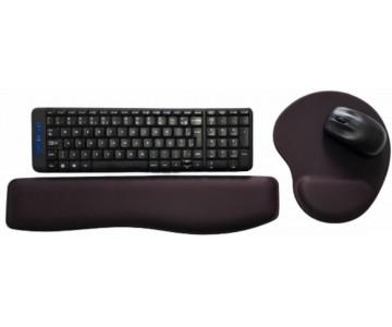 R$38,00 cada Kit- Acima de 50pçs-Mousepad Mouse Pad com Apoio Ergonômico + Apoio para Punho Teclado sem Impressão com Tecido  - 2
