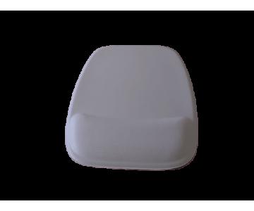R$8,00 cada - Acima de 50pçs-Mousepad Mouse Pad com Apoio Ergonômico sem Impressão com Tecido Branco para Sublimação  - 2