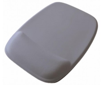 R$8,00 cada - Acima de 50pçs-Mousepad Mouse Pad com Apoio Ergonômico sem Impressão com Tecido Branco para Sublimação  - 9