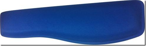 Apoio Teclado Ergonômico em Tecido Poliester Azul Marinho - sem Impressão