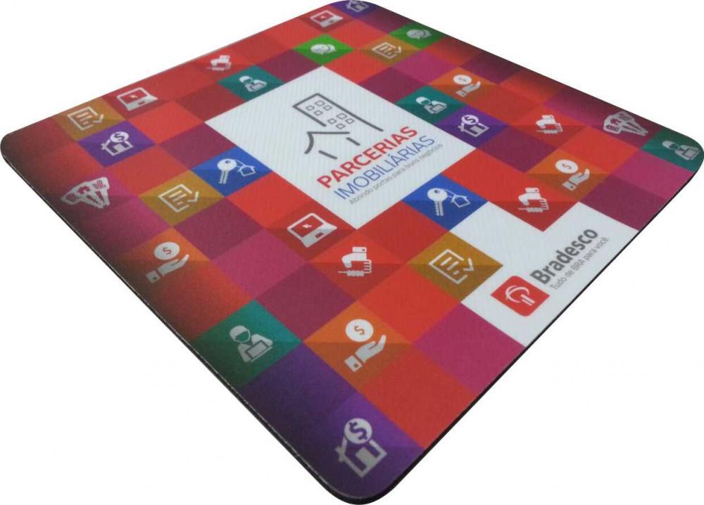 Mousepad Mouse Pad Personalizado e Laminado com PVC