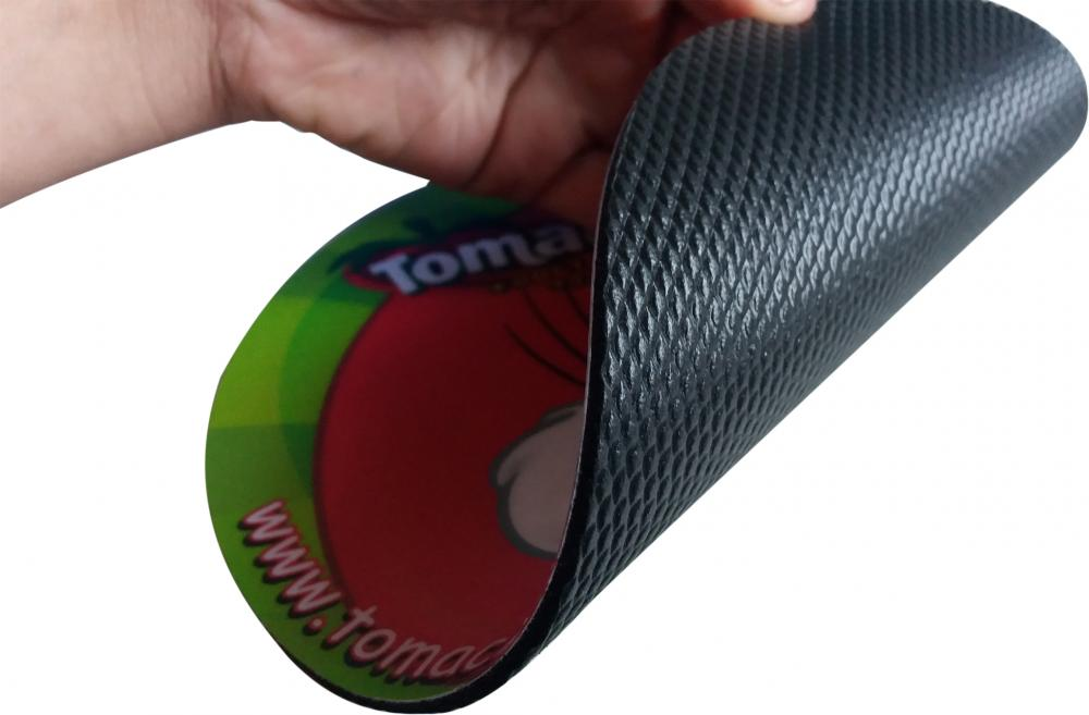 MousePad Mouse Pad Personalizado e Laminado com PVC - Base de Borracha Frisada