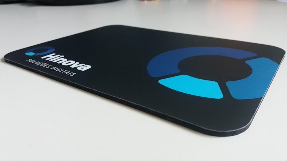 Mousepad Mouse Pad Personalizado e Laminado com PVC  - 13