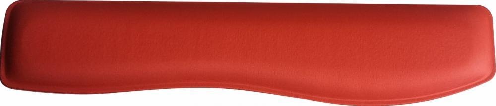 Apoio Teclado Ergonômico em Tecido Poliester Vermelho Ferrari - sem Impressão