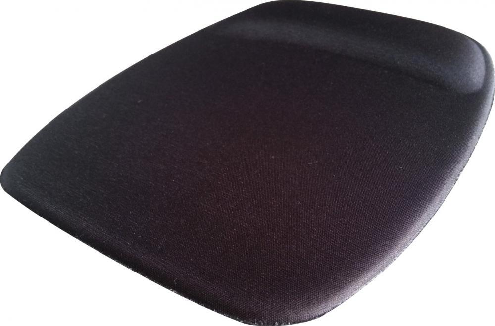 R$9,00 cada - Acima de 20pçs-Mousepad Mouse Pad com Apoio Ergonômico sem Impressão com Tecido Preto