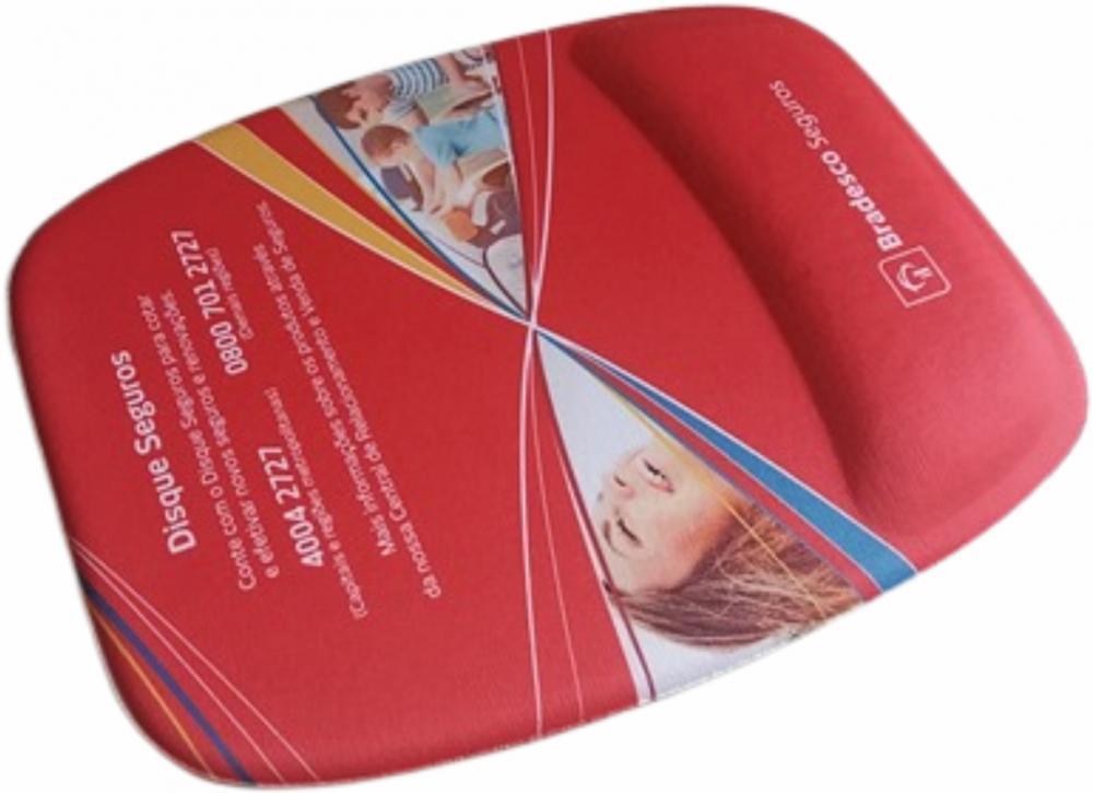 Mousepad Mouse Pad com Apoio Ergonômico Personalizado Tecido Sublimação  - 2