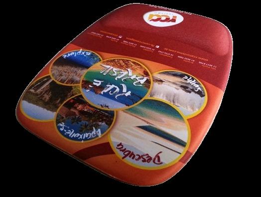 Mousepad Mouse Pad com Apoio Ergonômico Personalizado Tecido Sublimação  - 3