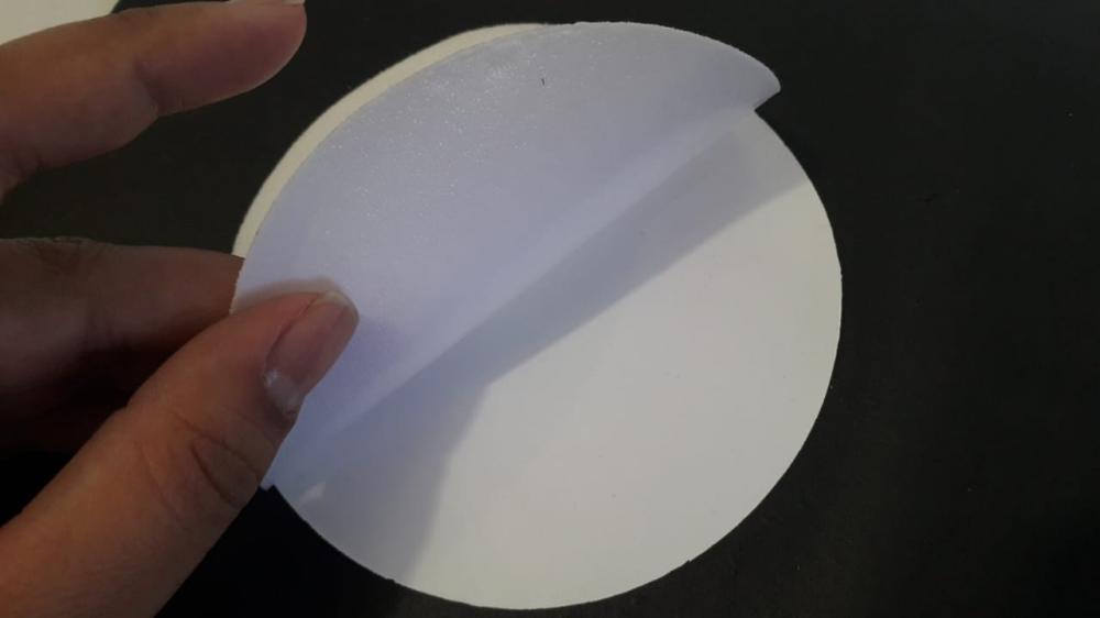 Tecido Branco Termocolante para Sublimação  - 2