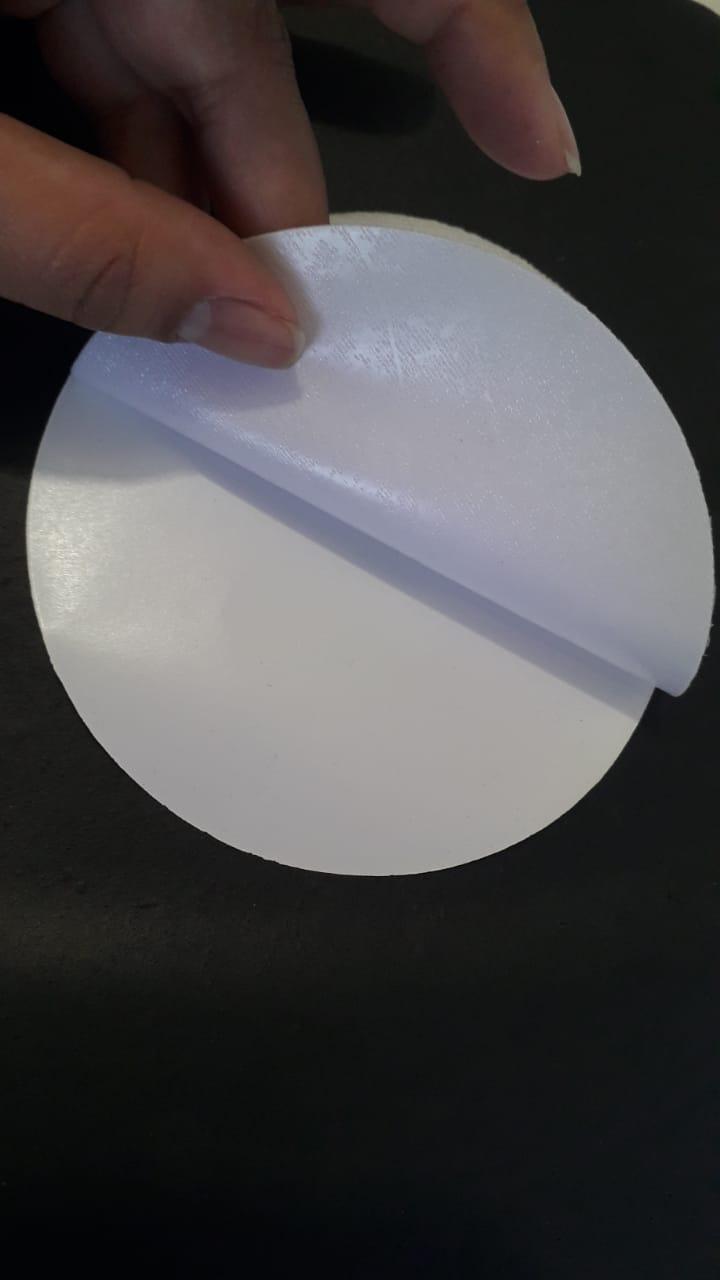 Tecido Branco Termocolante para Sublimação  - 3