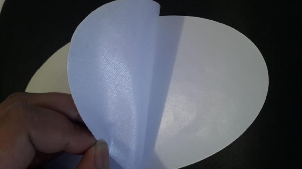 Tecido Branco Termocolante para Sublimação  - 5