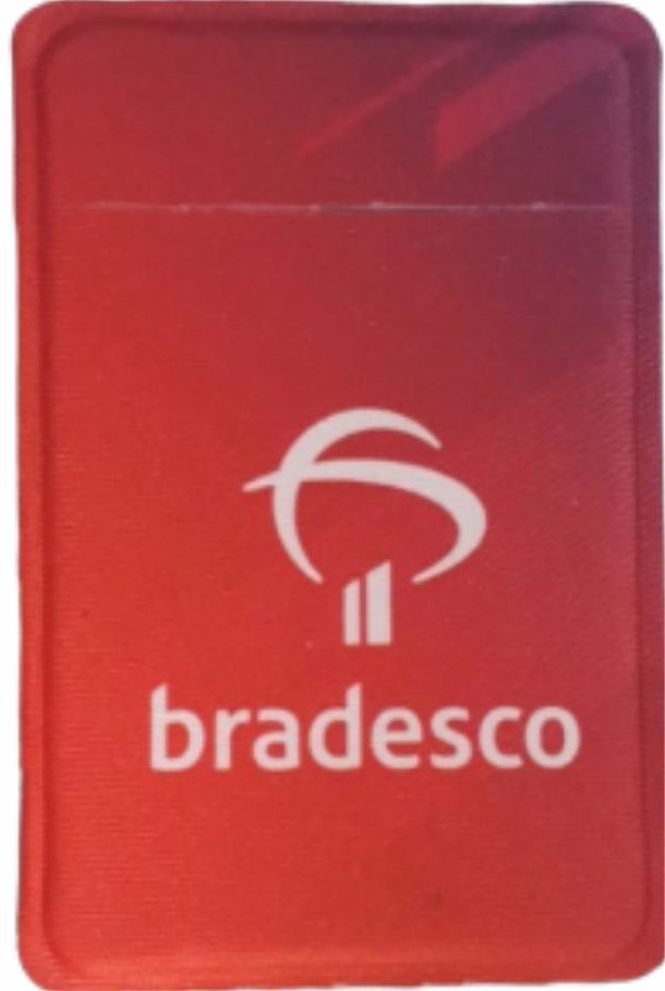 Porta Cartão Para Celular Em Lycra Estilo Nubank Personalizado com Adesivo  - 8