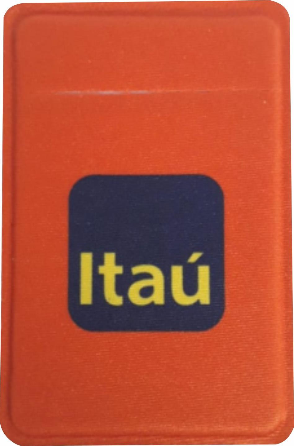 R$4,00 - Porta Cartão Para Celular Em Lycra Estilo Nubank Personalizado com Adesivo  - 4