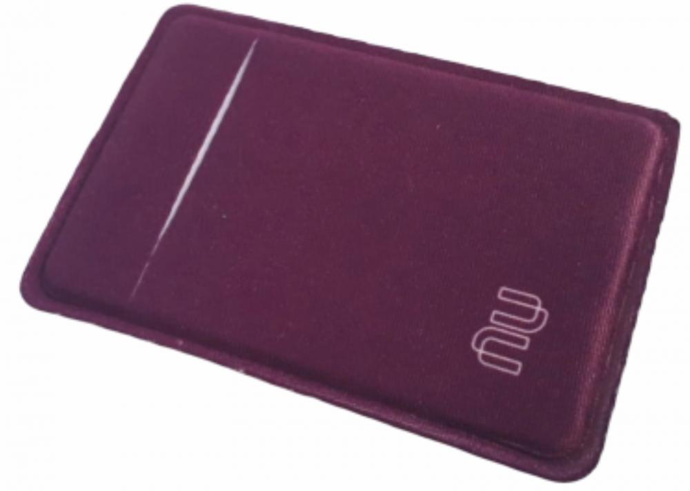 R$4,00 - Porta Cartão Para Celular Em Lycra Estilo Nubank Personalizado com Adesivo  - 11