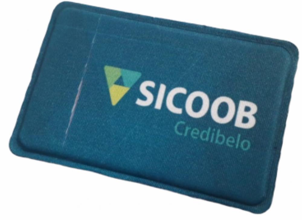 R$4,00 - Porta Cartão Para Celular Em Lycra Estilo Nubank Personalizado com Adesivo  - 7