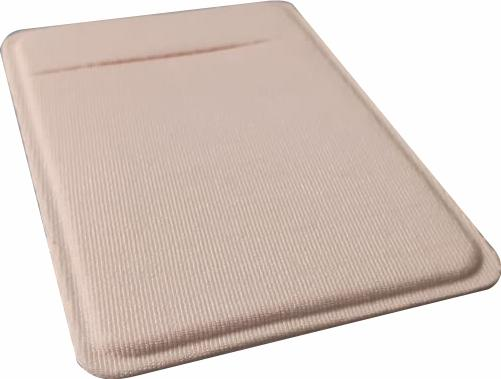 R$3,00 - Porta Cartão Para Celular Em Lycra Tecido Branco para Sublimação Sem Adesivo