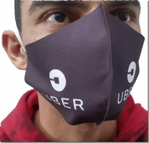 R$3,60 - Máscara Ninja Personalizada  - 4