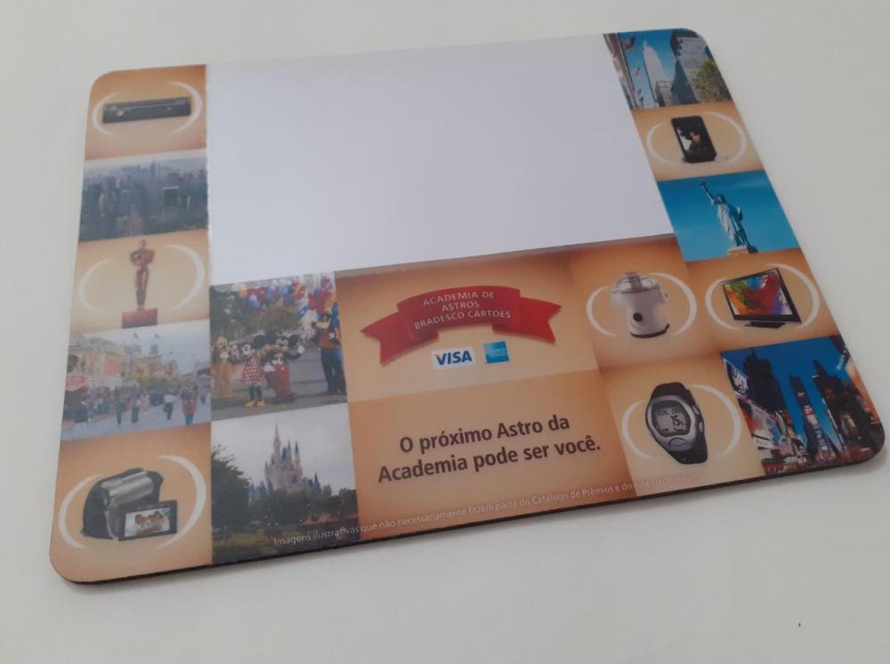 Mousepad Mouse Pad Personalizado e Laminado com PVC Porta Foto  - 4
