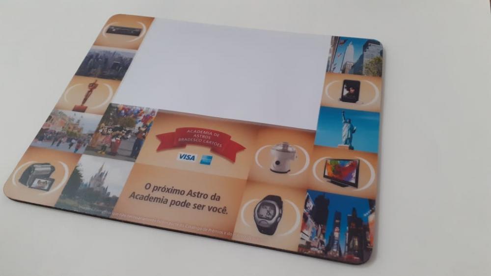 Mousepad Mouse Pad Personalizado e Laminado com PVC Porta Foto  - 6