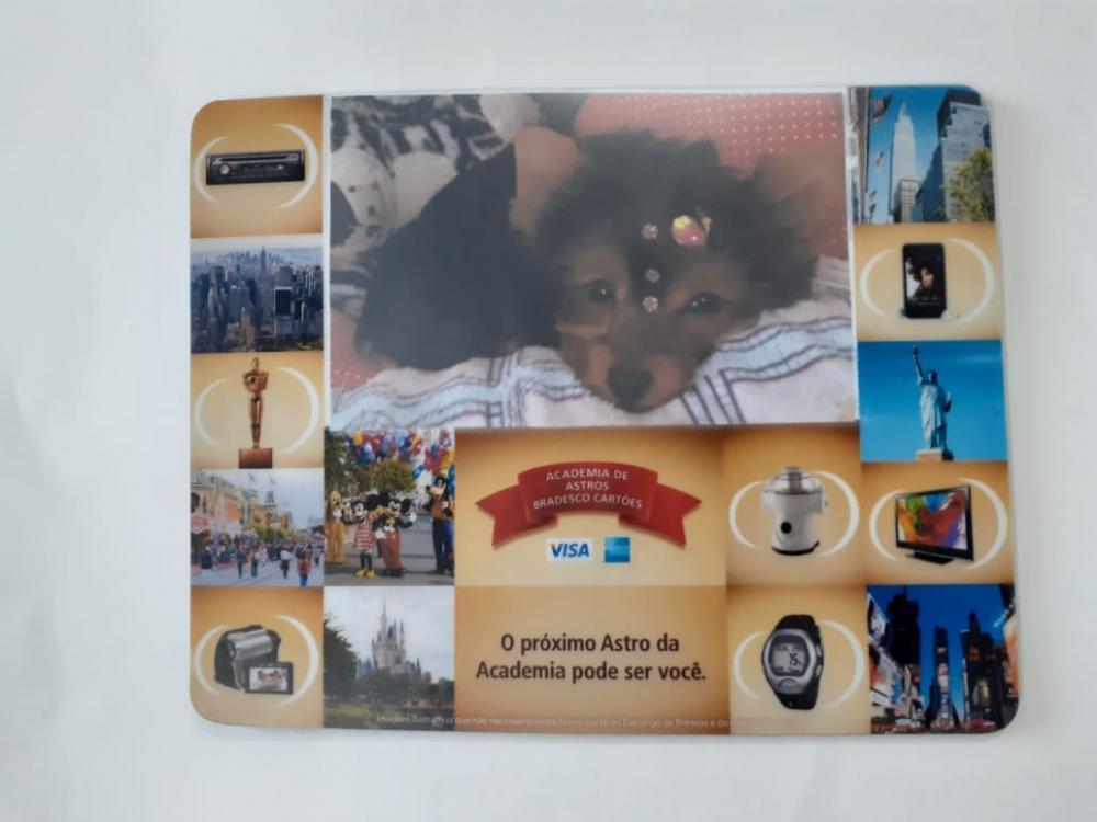 Mousepad Mouse Pad Personalizado e Laminado com PVC Porta Foto  - 7