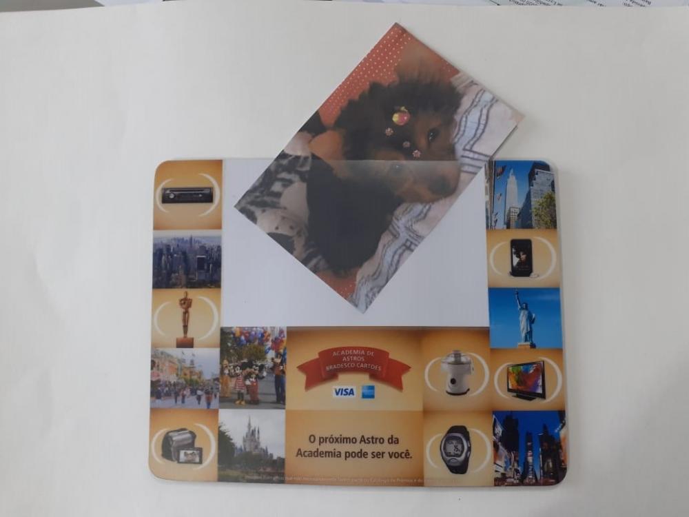 Mousepad Mouse Pad Personalizado e Laminado com PVC Porta Foto  - 9