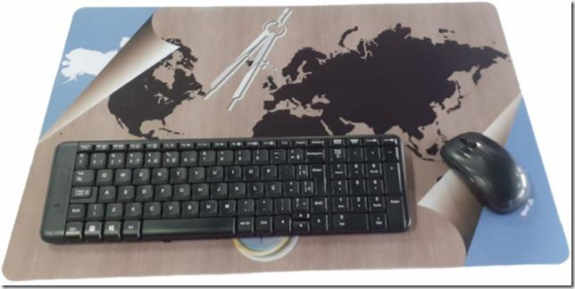 Mouse Pad Gamer 38,0x58,0cm